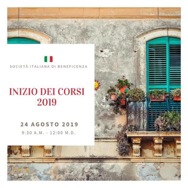 Curso de italiano 24 de Agosto del 2019