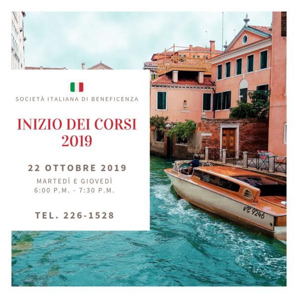 Nuevo curso 22 de Octubre 2019