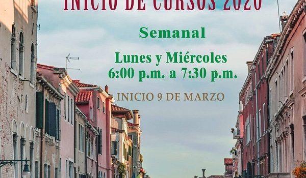 INICIO DE CURSOS 2020