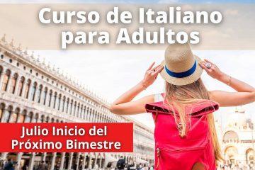Curso Italiano para adultos