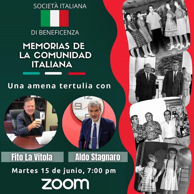 Memorias de la comunidad italiana
