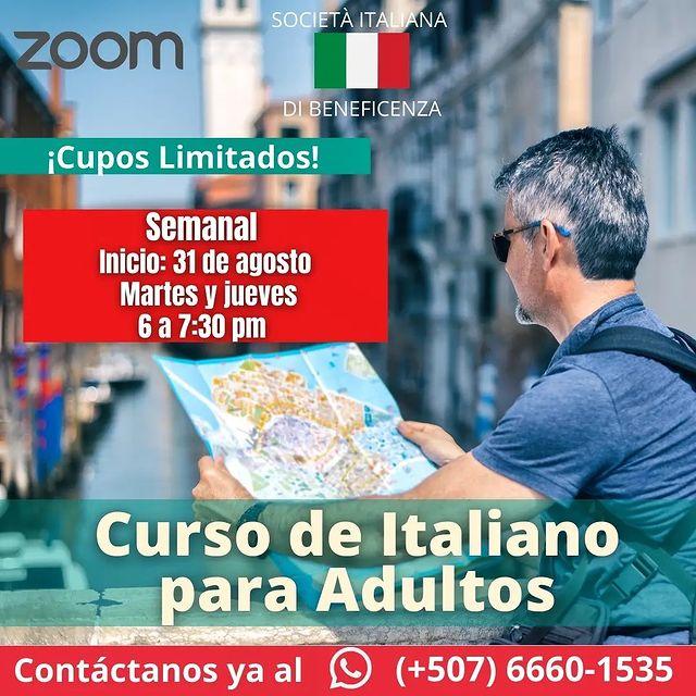 Curso de italiano para adultos